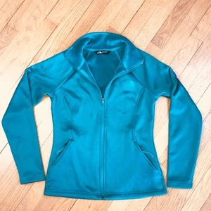 THE NORTH FACE Teal Zip-up Jacket